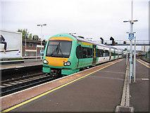 TQ3266 : Turbostar at East Croydon by Stephen Craven