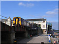 SX9676 : South end of Dawlish station by Stephen Craven