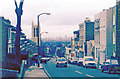 TQ3370 : Down Gipsy Hill to London, Winter 1985/86 by Ben Brooksbank