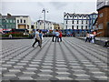 C8540 : Piazza, Portrush by Kenneth  Allen