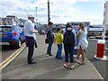 C8138 : Tourists, Portstewart by Kenneth  Allen