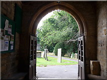SK2572 : St Anne, Baslow: churchyard (vi) by Basher Eyre