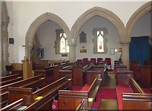 SK2572 : Inside St Anne, Baslow (X) by Basher Eyre