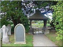 SK2566 : St Katherine, Rowsley: churchyard (v) by Basher Eyre