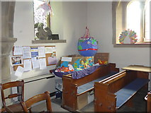 SK2566 : Inside St Katherine, Rowsley (c) by Basher Eyre