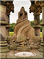 SJ3786 : Gothic Fountain (detail), Sefton Park by David Dixon