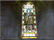 SK2071 : St Giles, Great Longstone: stained glass window (3) by Basher Eyre