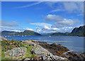 NG8033 : Plockton shoreline by John Allan