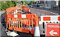 J3674 : EWAY works, Upper Newtownards Road, Belfast - August 2015(1) by Albert Bridge