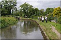 SP1671 : Drawbridge Farm Bridge, Stratford Canal by Stephen McKay