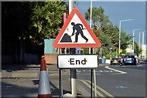 J3774 : EWAY works, Upper Newtownards Road, Belfast - August 2015(7) by Albert Bridge