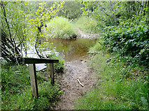 NH5143 : The end of the footpath along the River Beauly by Julian Paren
