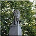 NJ7305 : Memorial lion by Bill Harrison