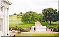 TQ3877 : Greenwich Park and Observatory from National Maritime Museum, 1999 by Ben Brooksbank