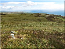 NR6007 : Moorland on Beinn a'Theine, Mull of Kintyre by wrobison