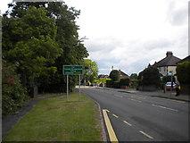 SJ9220 : Wolverhampton Road, Moss Pit by Richard Vince