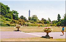 TQ2882 : Queen Mary's Gardens, Regents Park 1989 by Ben Brooksbank