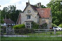 TQ5244 : North lodge, Penshurst Park by N Chadwick