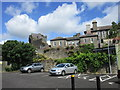 S1389 : Roscrea Castle and the rear of Damer House by Jonathan Thacker