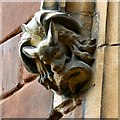 SJ8990 : A grotesque at St Mary's (3) by Gerald England