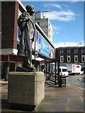 SO8554 : Statue of Elgar by Philip Halling