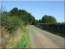 TF2198 : Minor road near Gunnerby House by JThomas