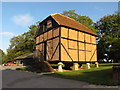 SU5764 : Old Granary at Wasing Park in Berkshire by Andrew Tryon