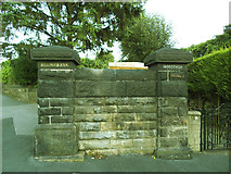 SE2434 : Old entrance to Billingbauk, Bramley by Stephen Craven