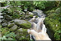 NY3920 : Waterfall in Aira Beck by Graham Hogg