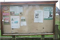 ST7483 : Little Sodbury parish notices by Bob Harvey