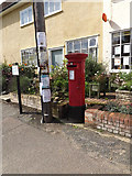 TM1763 : Post Office High Street Postbox by Adrian Cable