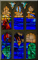 SK5739 : Stained glass window, St Peter's church, Nottingham by Julian P Guffogg