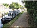 TQ1383 : Dolly, narrowboat on Paddington Branch canal by David Hawgood
