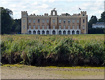 TQ1776 : Syon House overlooking the River Thames by Mat Fascione