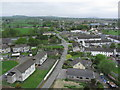 N7212 : Kildare - View N towards St Bridget's Park from Round Tower by Colin Park