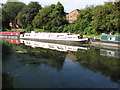 TQ1384 : Chickasaw, narrowboat on Paddington Branch canal by David Hawgood