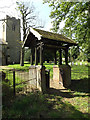 TM1664 : St.Mary of Grace Church Lych Gate by Adrian Cable