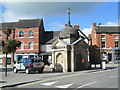 SK0933 : Market Place, Uttoxeter by David Weston