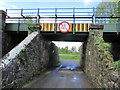 N2571 : Low bridge W of Edgeworthstown Station, Co Longford by Colin Park