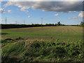 TL5868 : Stubble field by Little Fen Drove by Hugh Venables