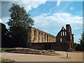 TQ7415 : Battle Abbey ruin by Malc McDonald
