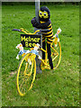 NY6137 : The yellow bikes of Melmerby (19) by Oliver Dixon