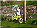 NY6137 : The yellow bikes of Melmerby (21) by Oliver Dixon