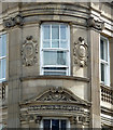 NZ2464 : Detail of Imperial Buildings, Westgate Road, Newcastle by Stephen Richards