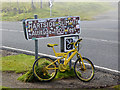 NY6441 : The yellow bikes of Hartside (3) by Oliver Dixon