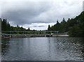 NH4743 : Aigas Dam by John Allan