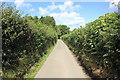 SJ2740 : Offa's Dyke Path near Fron Isaf by Jeff Buck