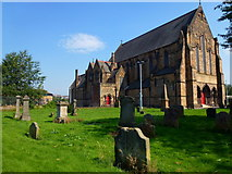 NS5565 : Govan Old Parish Church by david cameron photographer
