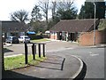 SU5766 : Old people's bungalows, Victor Place, Woolhampton by Robin Stott
