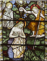 SK9303 : Detail, Stained glass window, St John the Baptist church by J.Hannan-Briggs